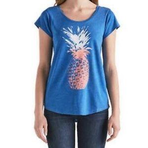 Lucky Brand Pineapple Women's Graphic T-Shirt